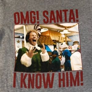 Elf Christmas Unisex T-shirt SZ Large